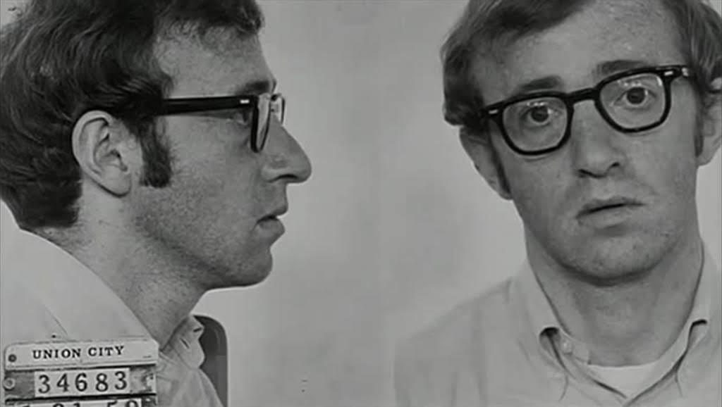 «Robó, huyó y lo pescaron», Woody Allen