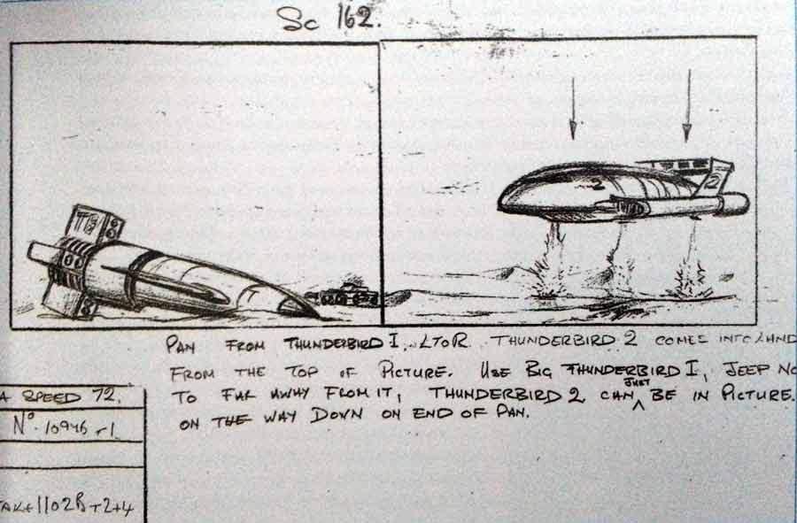 Story board de Thunderbirds
