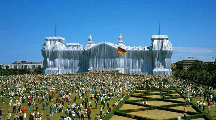 El arte de Christo y Jeanne-Claude
