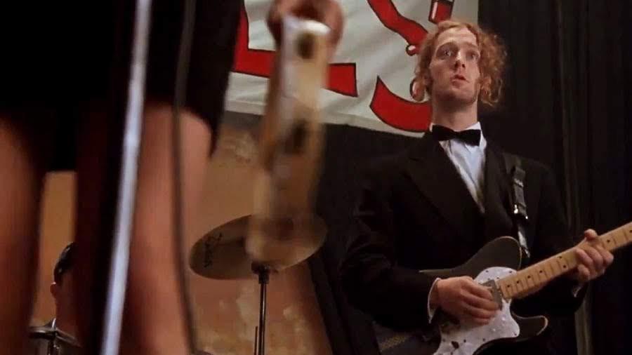 Fotograma de «The Commitments», con Glen Hansard como el guitarrista Outspan Foster