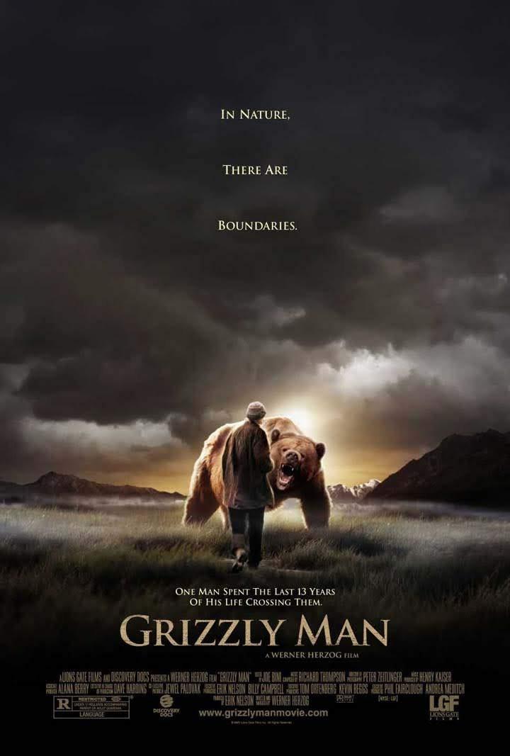 """Afiche de """"Grizzly Man"""""""