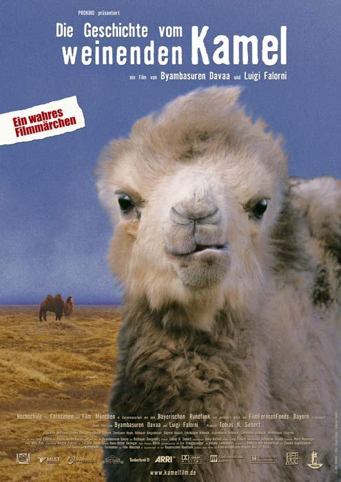 La Historia del Camello que llora - Afiche