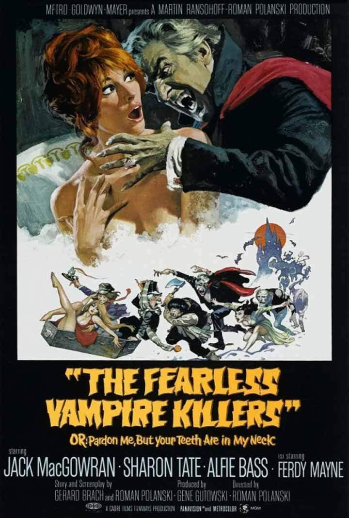 """""""La Danza de los Vampiros"""", Roman Polanski"""
