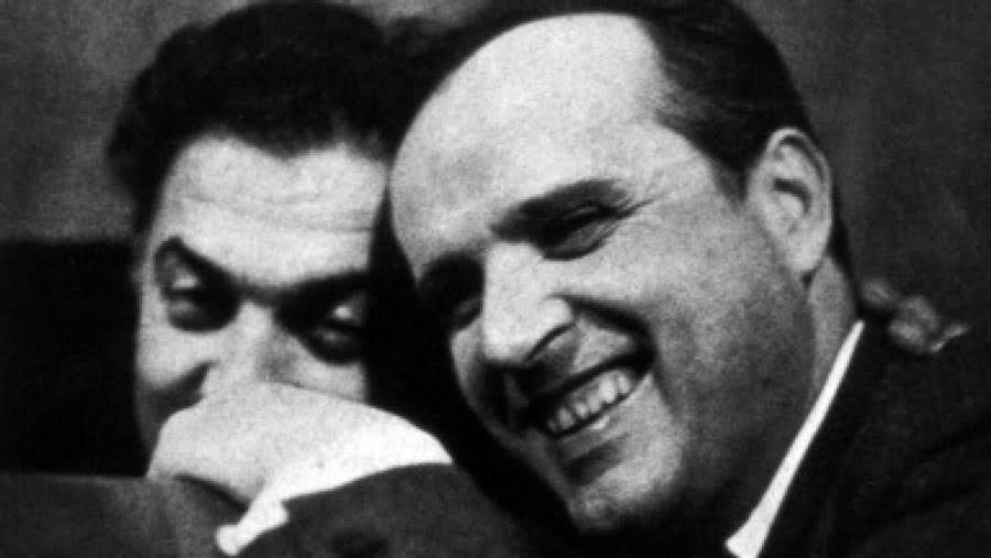 "Federico Fellini y el compositor Nino Rota   ""La Strada"""