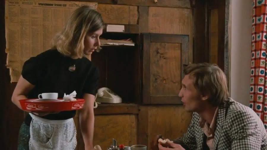 """Anna (Libgart Schwarz) y Bloch   """"El miedo del arquero ante el penal"""" (1971)"""