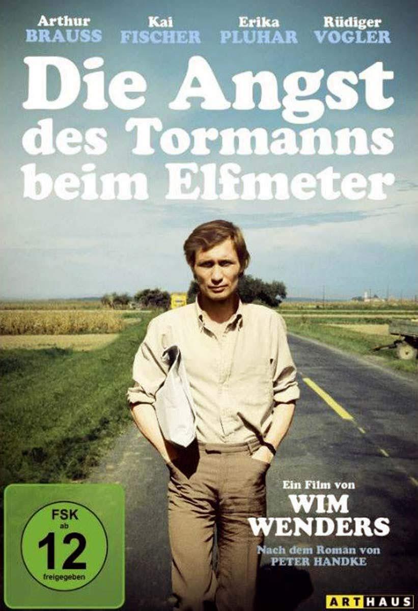 """Afiche de """"El miedo del arquero ante el penal"""", Wim Wenders (1971)"""