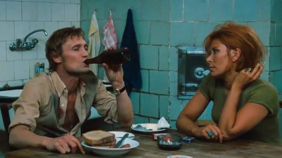 """Bloch y Hertha (Kai Fischer)   """"El miedo del arquero ante el penal"""" (1971)"""