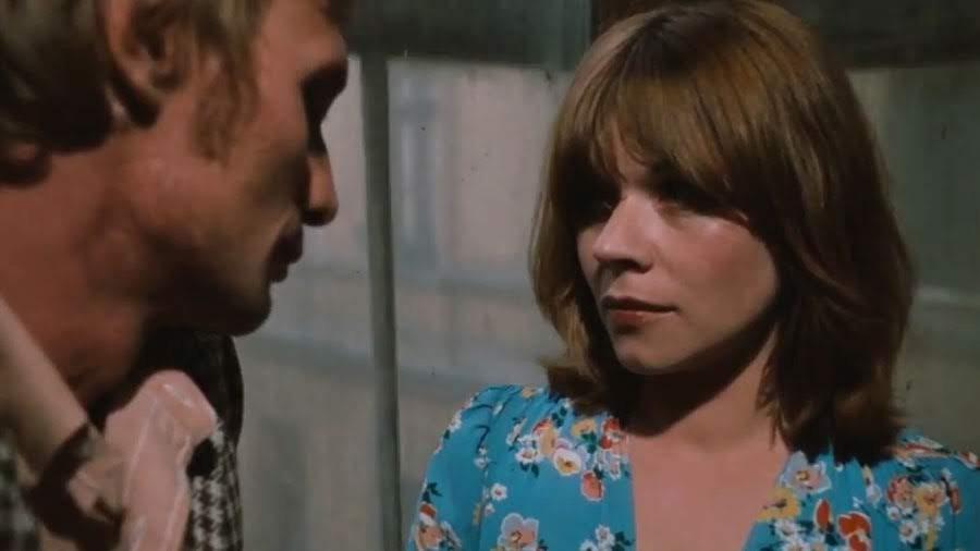 """Joseph Bloch (Arthur Brauss) y Maria (Marie Bardischewski)   """"El miedo del arquero ante el penal"""" (1971)"""