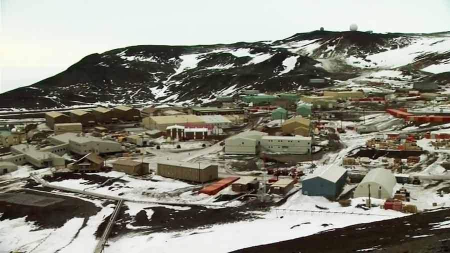 Estación McMurdo, base del programa antártico de Estados Unidos | «Encuentros en el fin del mundo»