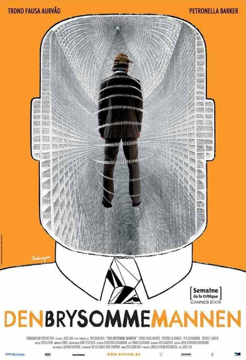 """Afiche de """"Den Brysomme Mannen"""""""