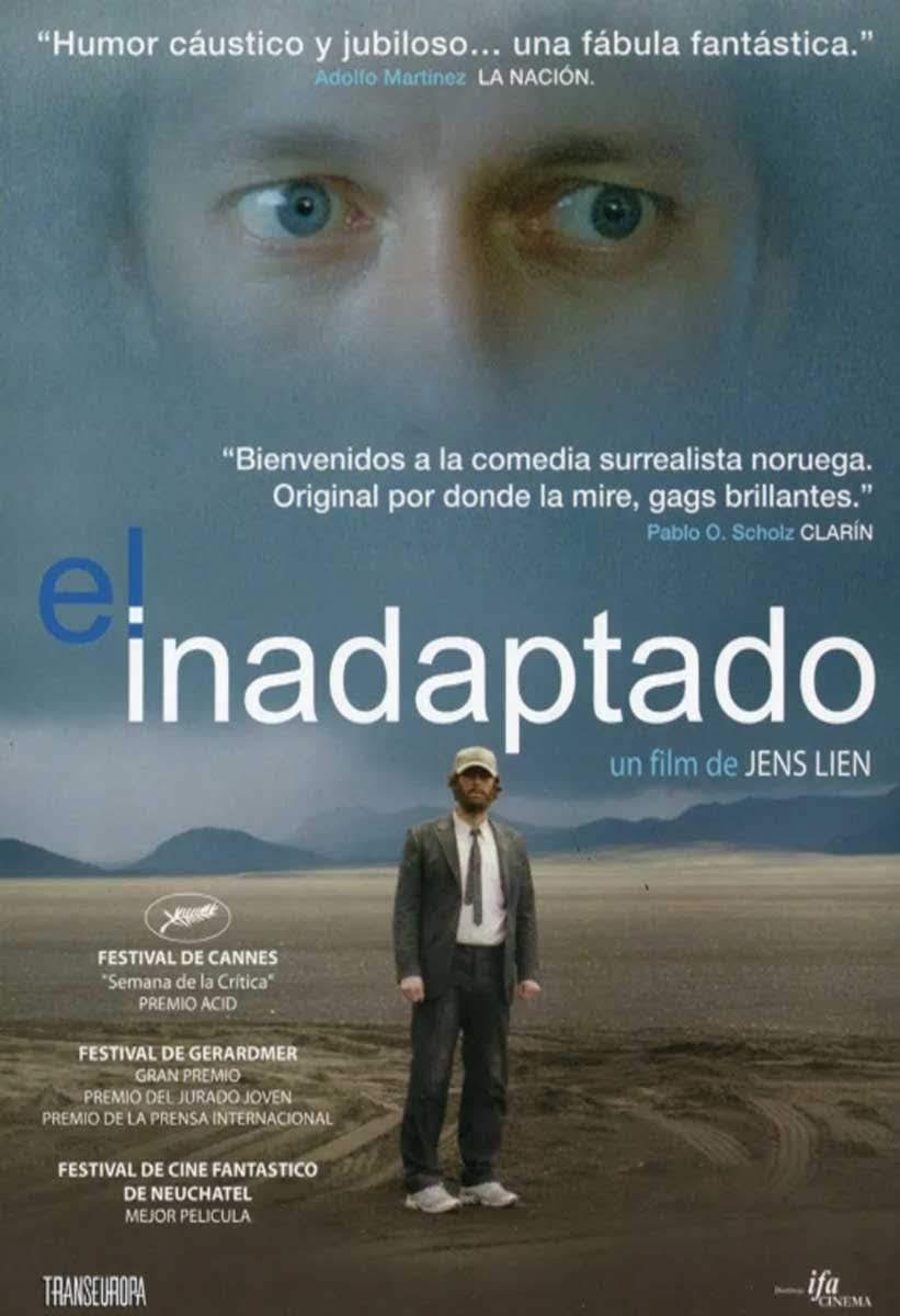"""Afiche de """"El Inadaptado"""" (Den Brysomme Mannen)"""