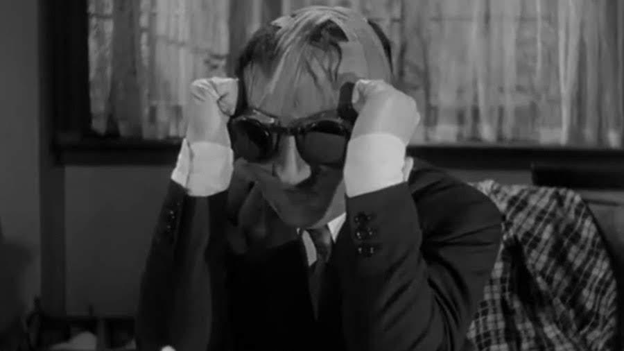 "Jack Griffin (Claude Rains) | ""El hombre invisible"" (1933)"