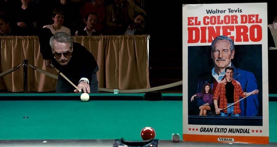 """""""El Color del Dinero"""", adaptación libre al cine de Martin Scorsese sobre la novela de Walter Tevis"""