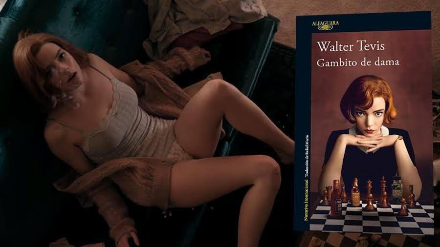 """""""Gambito de Dama"""", novela de Walter Tevis adaptada a miniserie de TV por Scott Frank"""