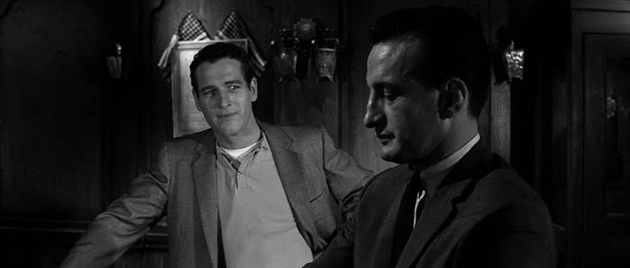 "Paul Newman y George C. Scott (""The Hustler""-1961)"