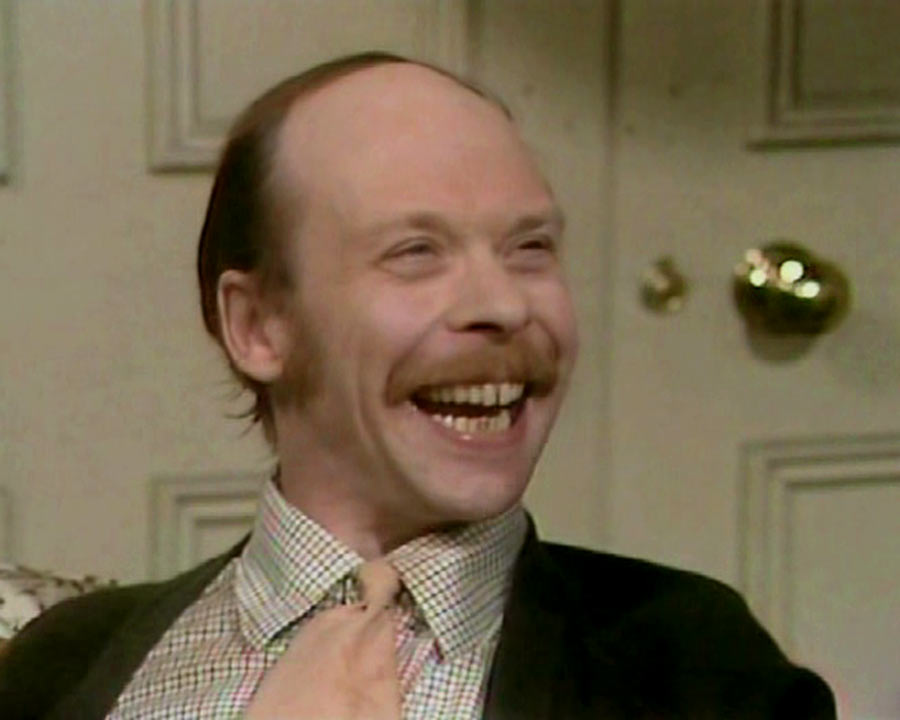 """Brian Murphy es George Roper en """"Un hombre en la casa"""""""