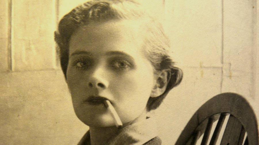 La escritora británica Daphne du Maurier