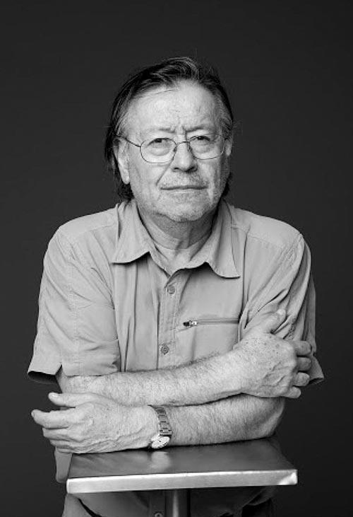 "Orlando Lübbert, autor de ""Guion para un cine posible"" | © ICEI - U. de Chile"
